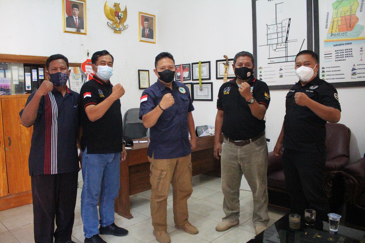 BNNK Ciamis Berkoordinasi Ke Desa Pananjung Dan Desa Selasari Kabupaten Pangandaran  Bahas Desa Bers