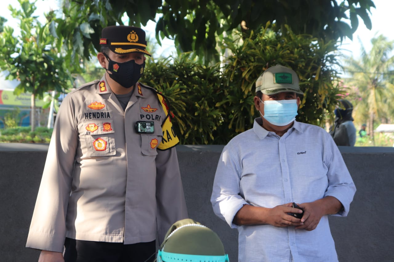 Pasca Idul Fitri, Bupati Pangandaran Monitoring Objek Wisata Pangandaran