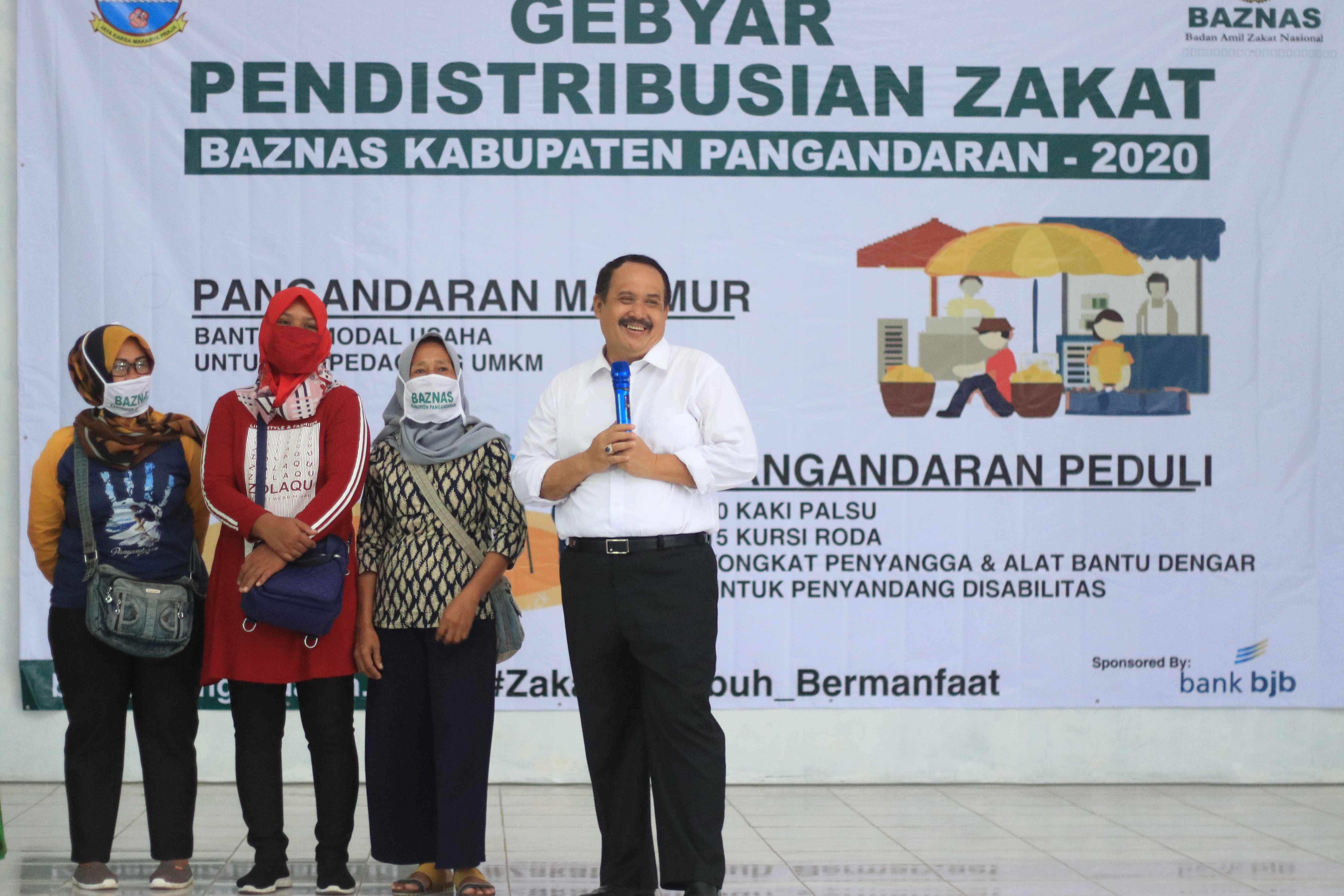 Gebyar Pendistribusian Zakat, Infaq dan Shodaqoh (ZIS) Tahun 2020