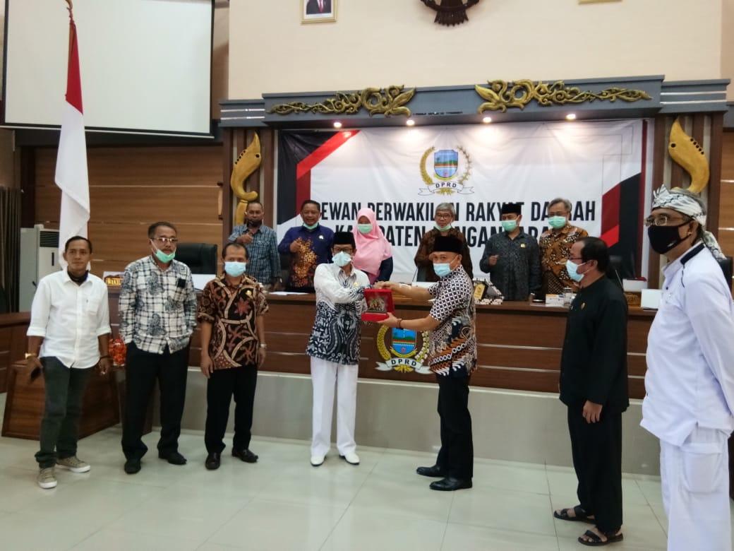 DPRD Kabupaten Pangandaran terima Kunjungan Komisi D DPRD Kabupaten Ciamis