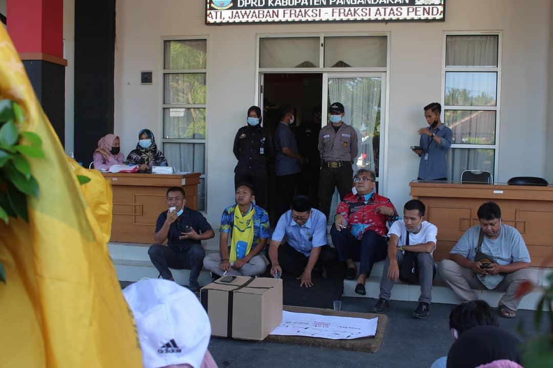DPRD Pangandaran Terima Audiensi Pergerakan Mahasiswa Islam Indonesia (PMII)
