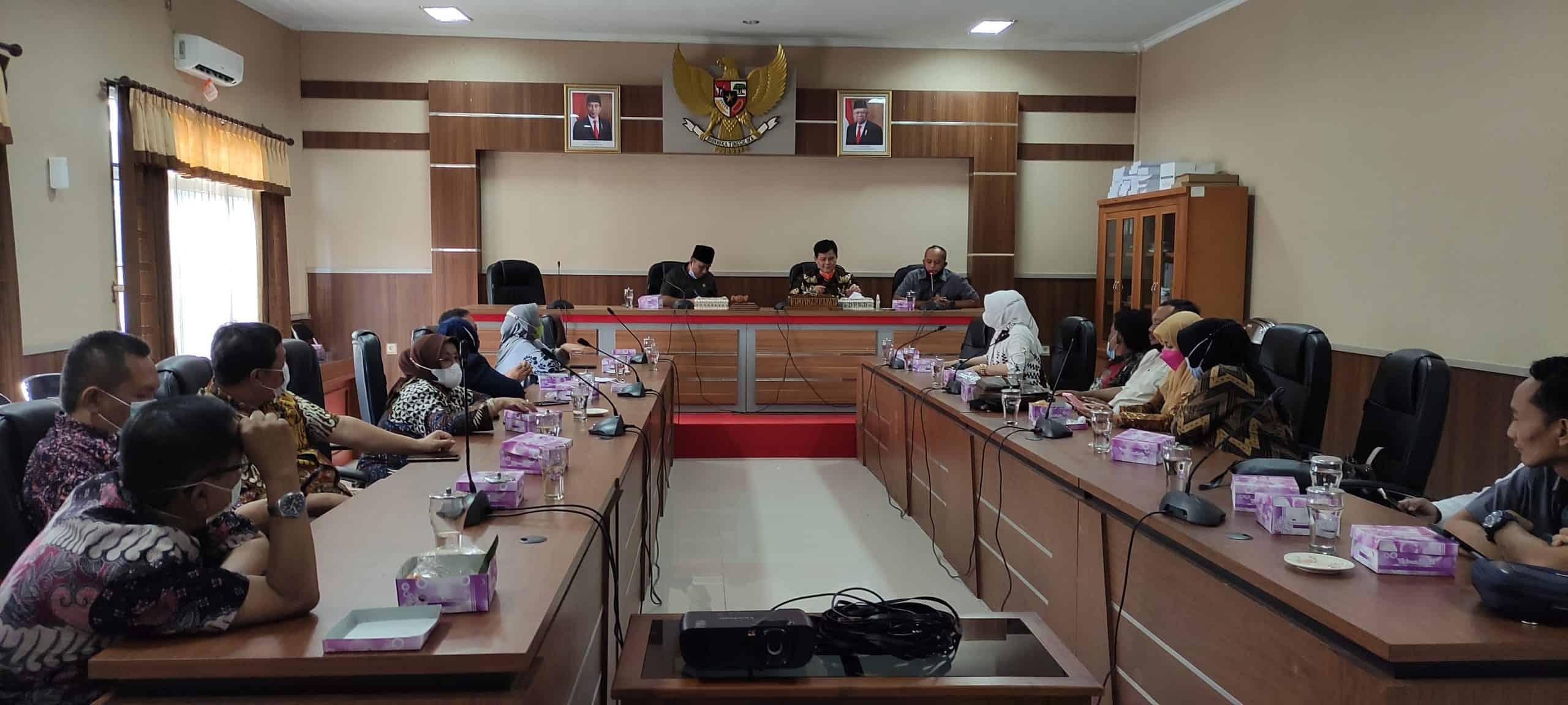 Kunjungan Kerja DPRD Kota Cimahi