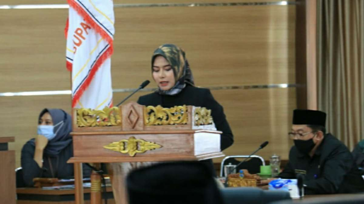Pansus V DPRD Pangandaran Laporkan Pembahasan Raperda Pembentukan OPD