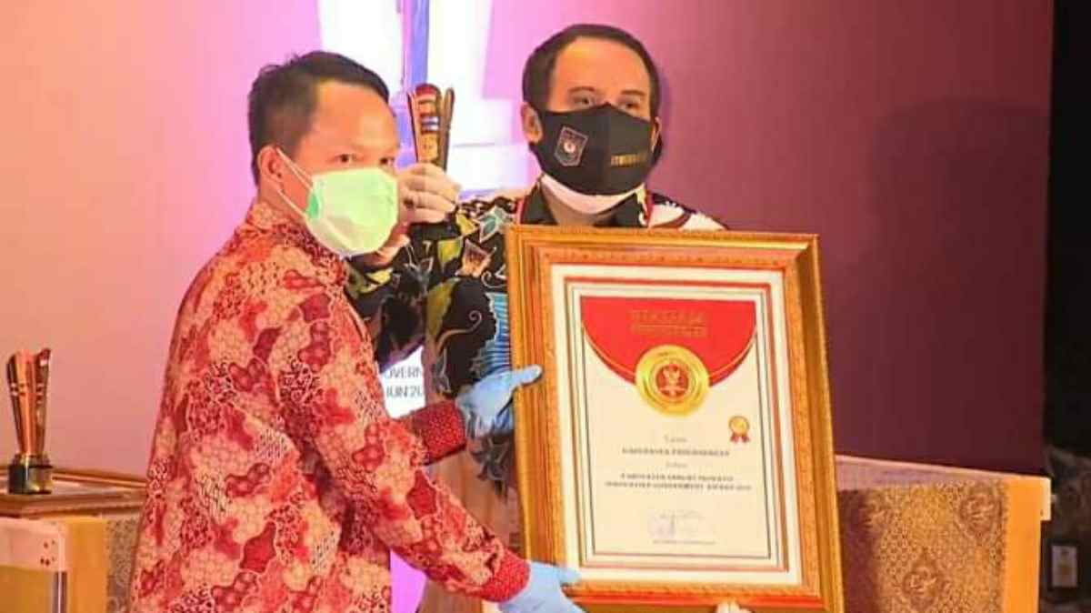 Punya banyak Inovasi, Kabupaten Pangandaran Raih Penghargaan IGA 2020