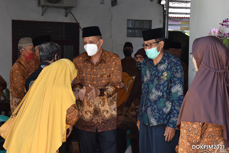 Silaturahmi Dengan Pengurus PWRI, Wabu Pangandaran Ajak Untuk Memajukan Organisasi