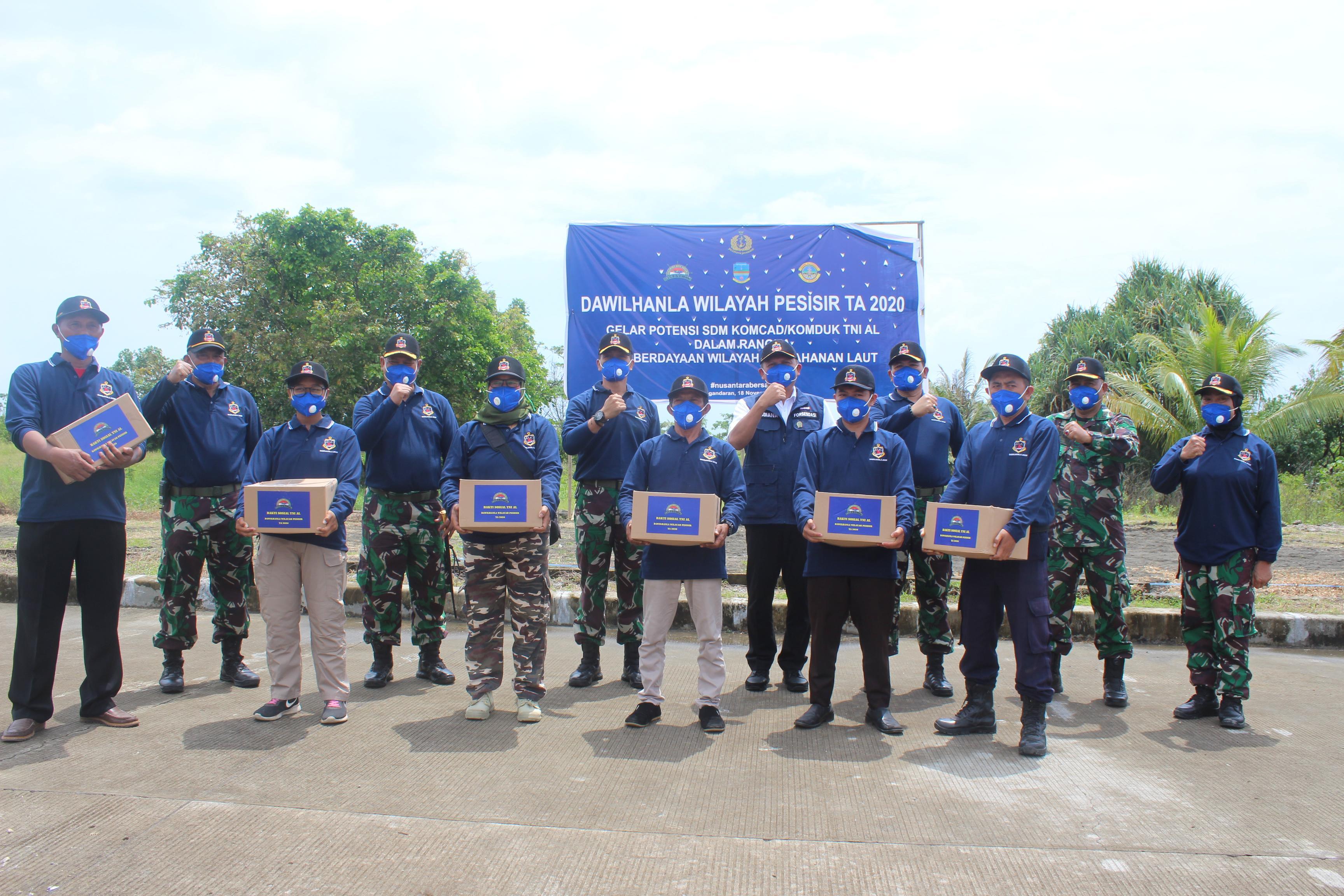 4 Daerah Di Indonesia Gelar Apel KOMCAD KOMDUK TNI AL, Pangandaran Salah Satunya