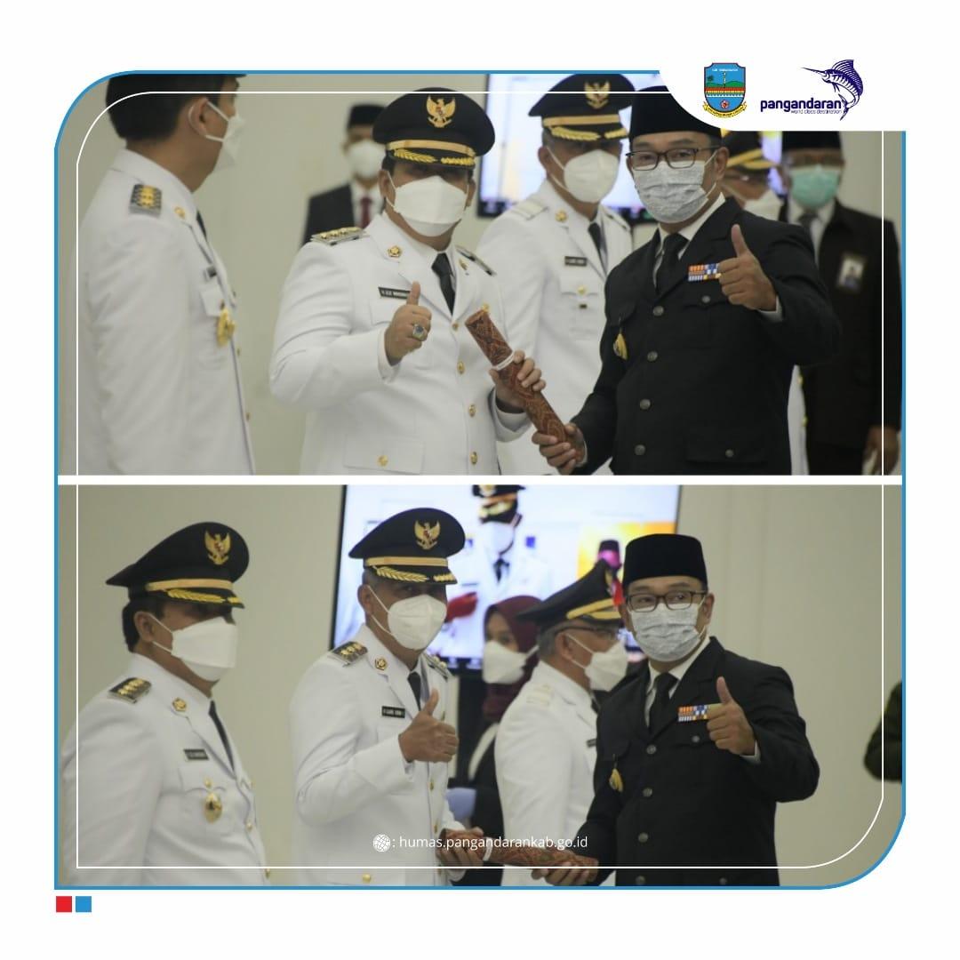 Gubernur Jawa Barat Lantik Bupati dan Wakil Bupati Pangandaran