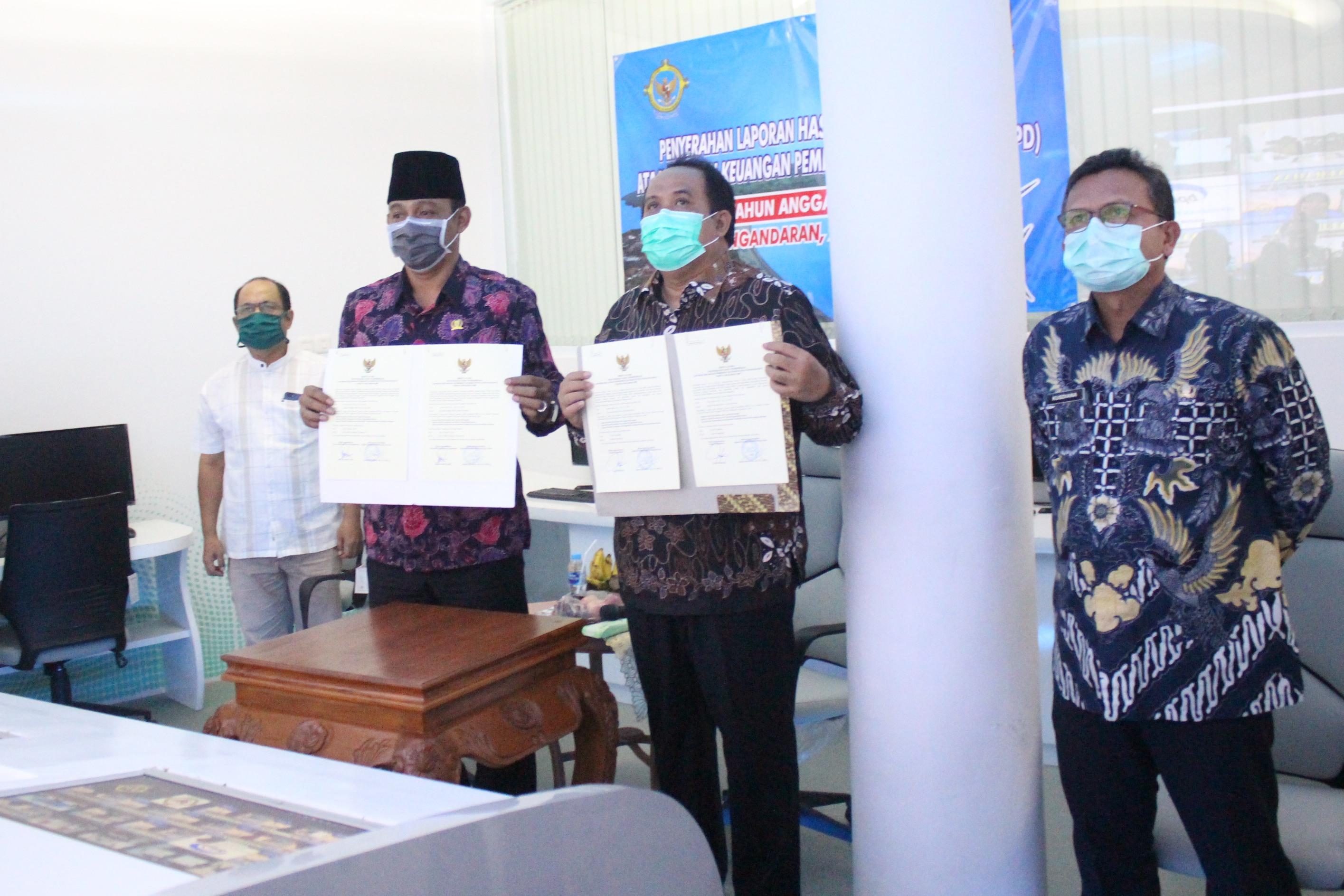 4 Kali Berturut-turut Kabupaten Pangandaran Raih WTP