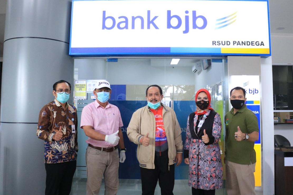 Bank BJB Buka Kantor Kas di RSUD Pandega