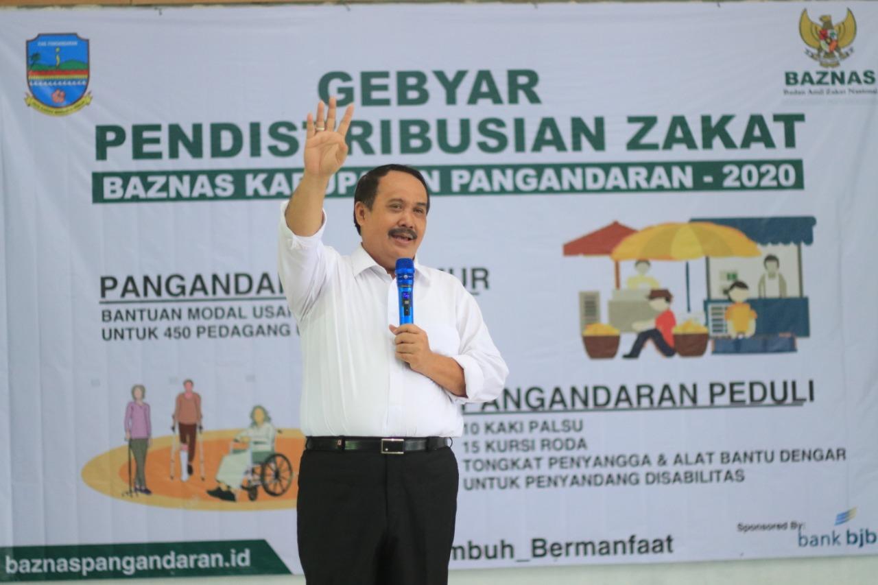 Baznas Salurkan Zakat, Infaq dan Shodaqoh
