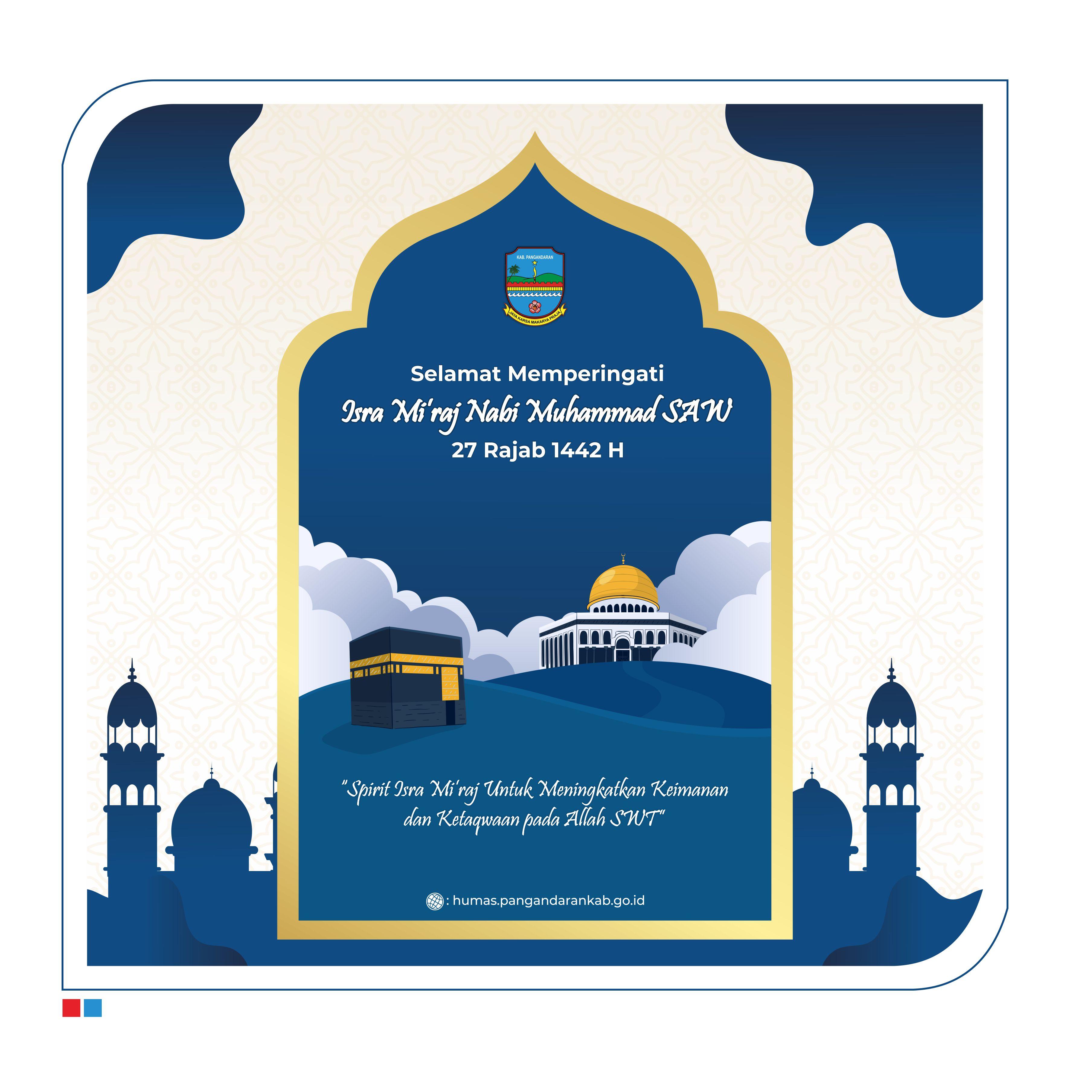 Selamat Memperingati Isra Mi'raj Nabi Muhammad SAW