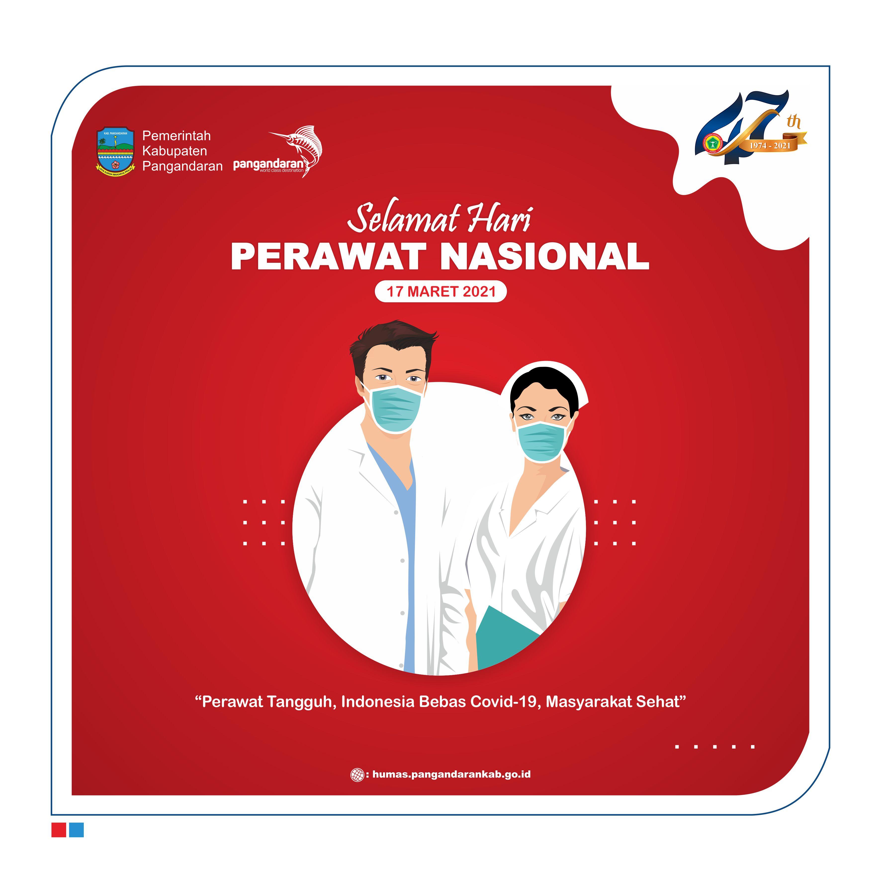 Selamat Hari Perawat Nasional Tahun 2021