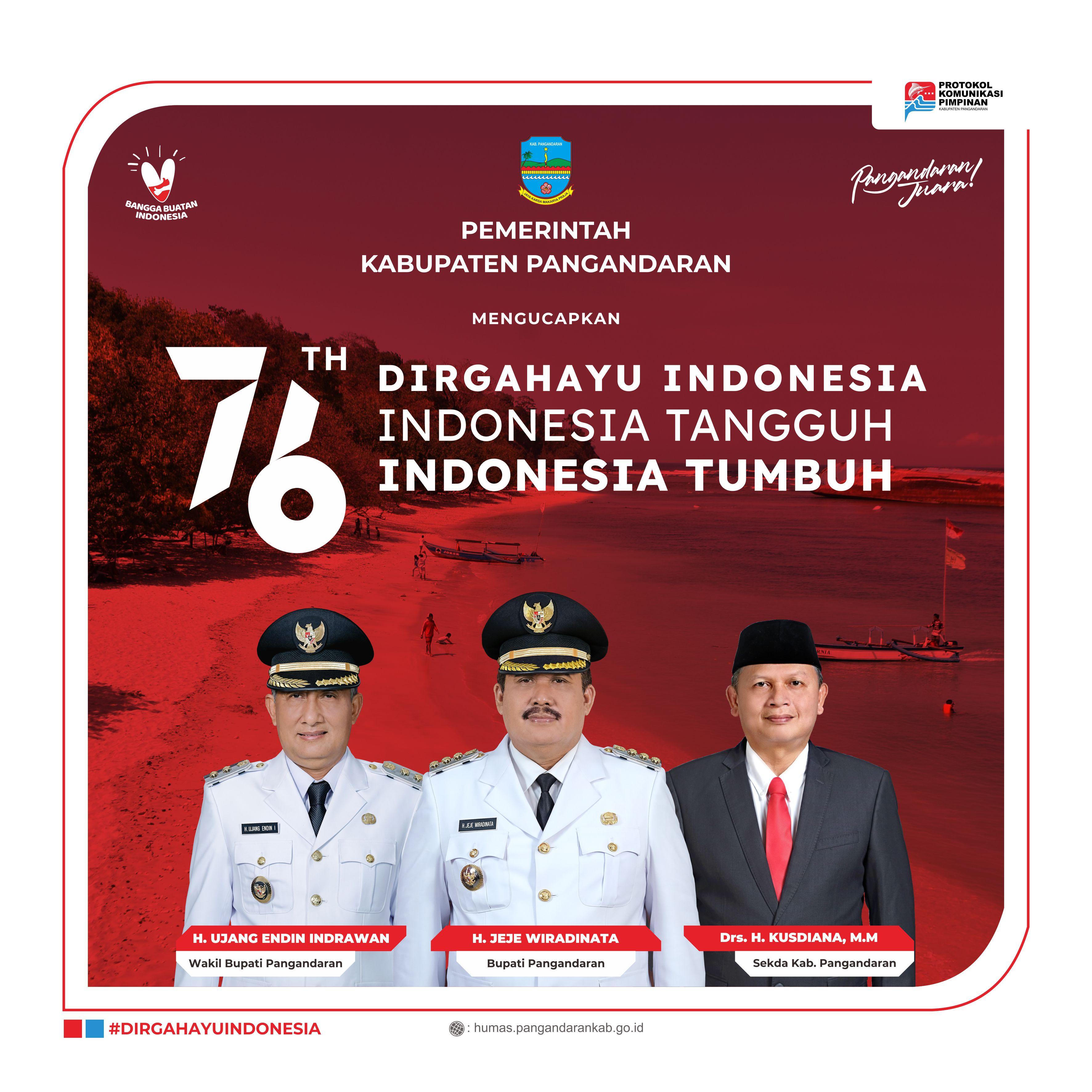 Dirgahayu Indonesia Ke-76