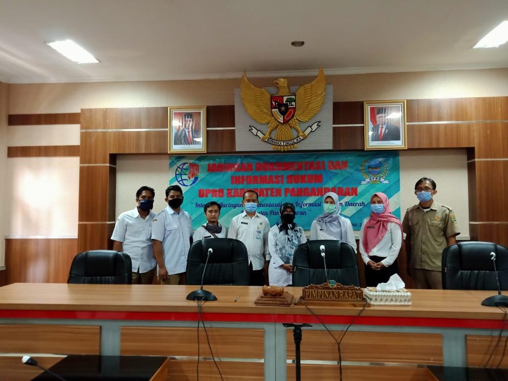 Kunjungan Kerja Biro Hukum dan Ham Setda Prov Jabar