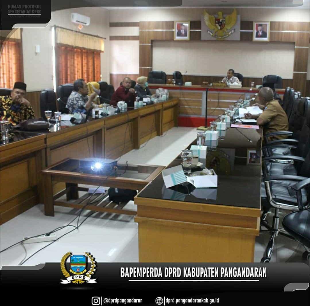 Pembahasan Prorgram Pembentukan Peraturan Daerah Tahun 2021