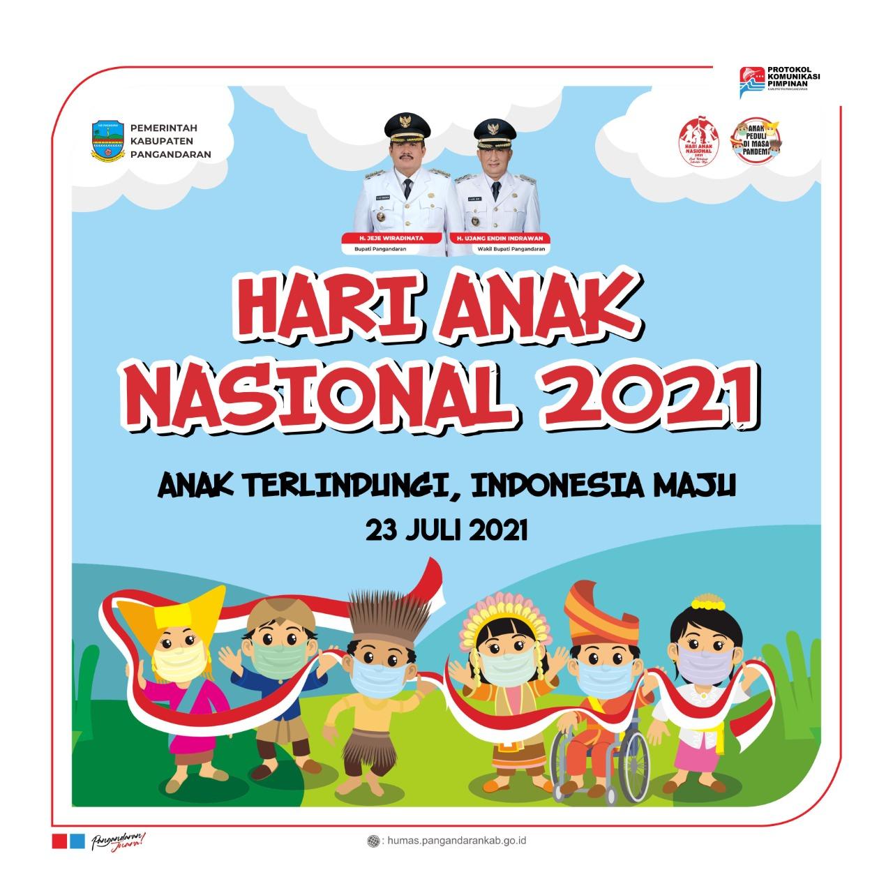 Selamat Hari Anak Nasional Tahun 2021